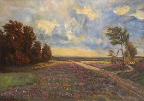 MÜLLER-KAEMPFF, Paul: the Heath landscape. - photo 1