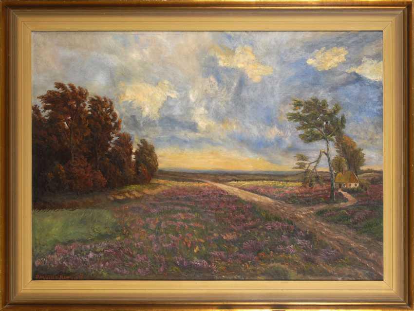MÜLLER-KAEMPFF, Paul: the Heath landscape. - photo 2