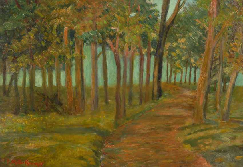 MÜLLER-KAEMPFF, Paul: the forest at the Baltic sea - photo 1
