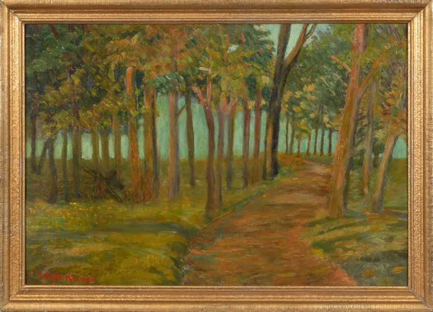 MÜLLER-KAEMPFF, Paul: the forest at the Baltic sea - photo 2