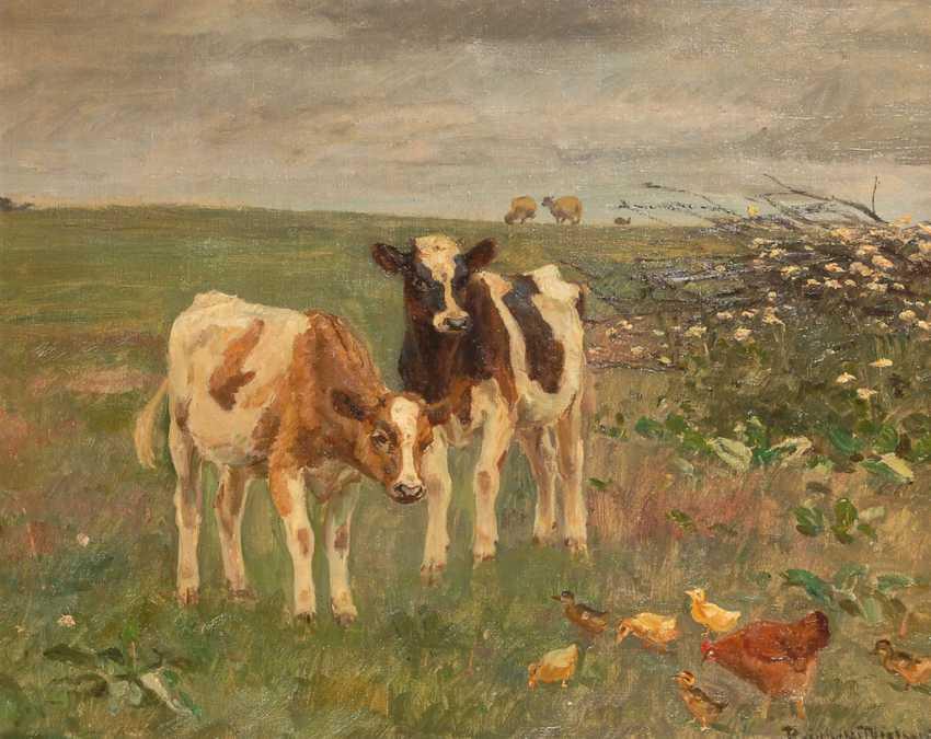 NIELSEN, Knud Reinholdt: pasture piece. - photo 1