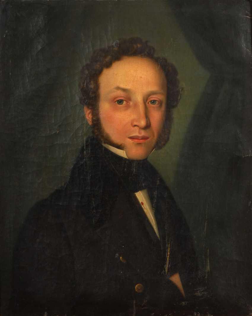 size 40 wholesale outlet 100% quality Lot 4051. A portrait painter of the 19th century. Century ...