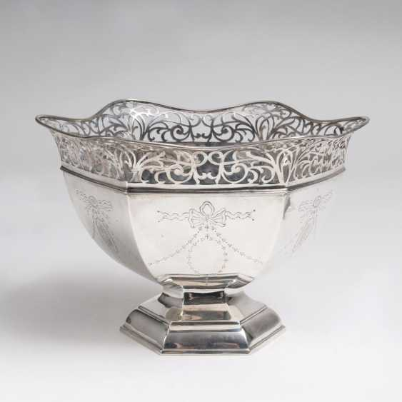 Silver bowl with pierced decoration - photo 1