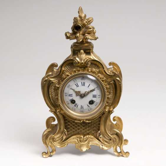 Napoleon- III-Pendule von AD. Mougin - photo 1