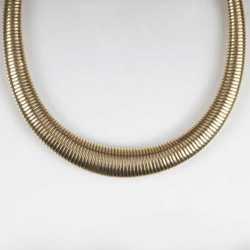 Paris Gold-jewelry: women's wrist watch, necklace and bracelet - photo 1