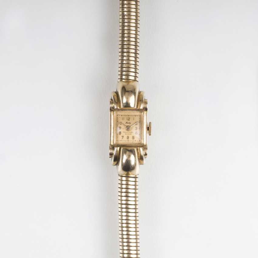 Paris Gold-jewelry: women's wrist watch, necklace and bracelet - photo 4