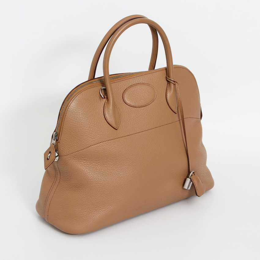"HERMÈS sporty Handle/shoulder bag ""BOLIDE 35"", collection 2003. Current Price: 5.600,-€. - photo 2"