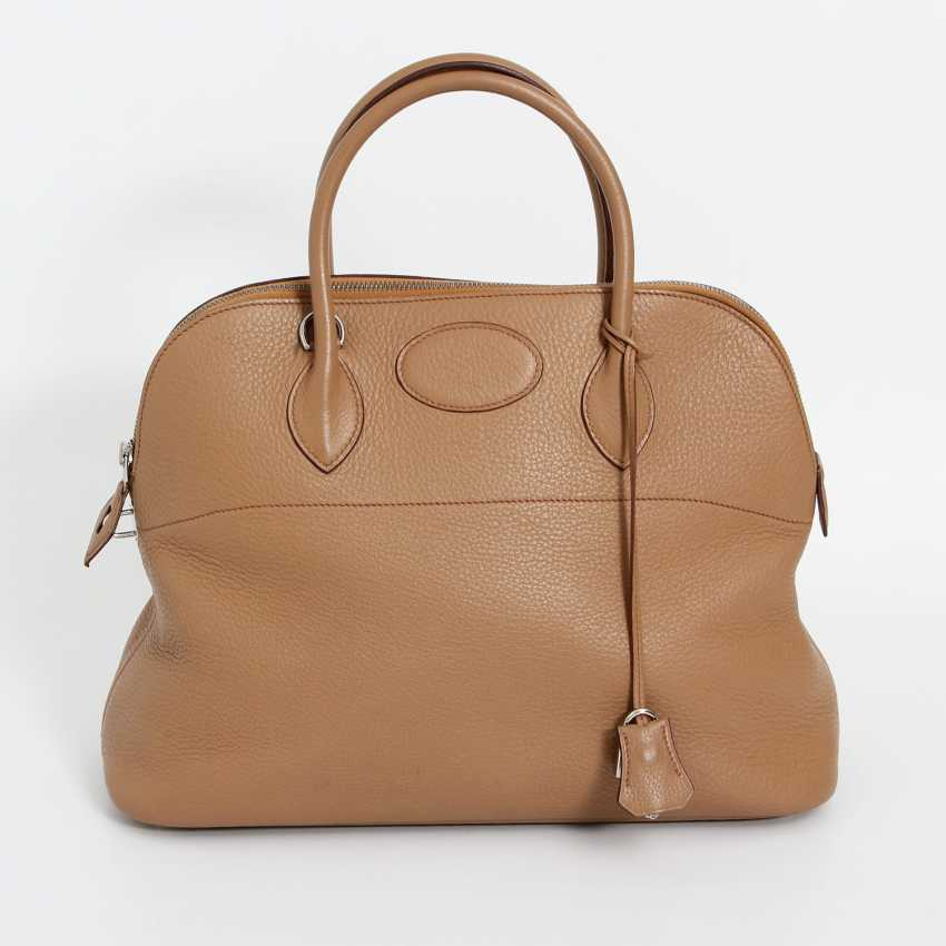 "HERMÈS sporty Handle/shoulder bag ""BOLIDE 35"", collection 2003. Current Price: 5.600,-€. - photo 1"