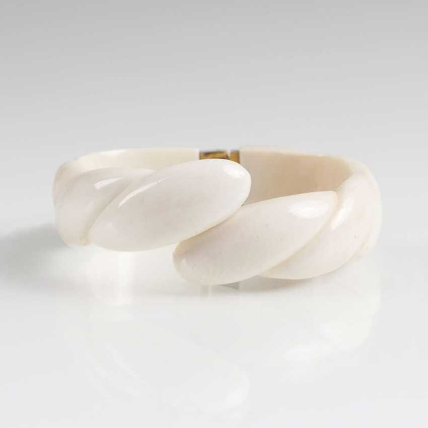 Ivory Bangle Bracelet - photo 1
