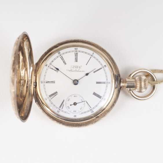 Antique ladies watch with watch chain - photo 1