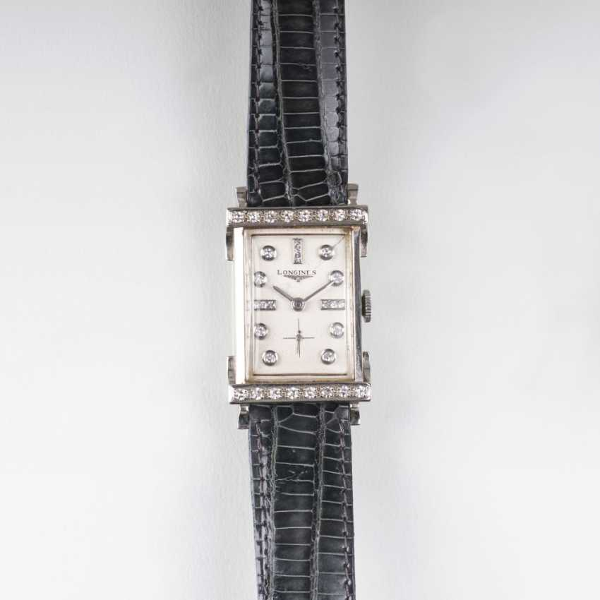 Art Deco wrist watch with diamond trim - photo 1