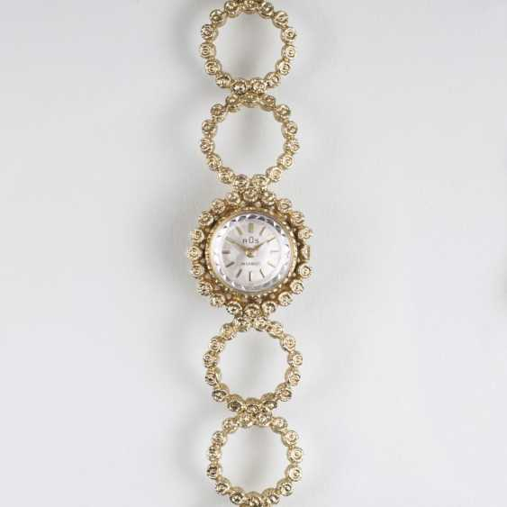 Vintage ladies wrist watch with Gold bracelet - photo 1