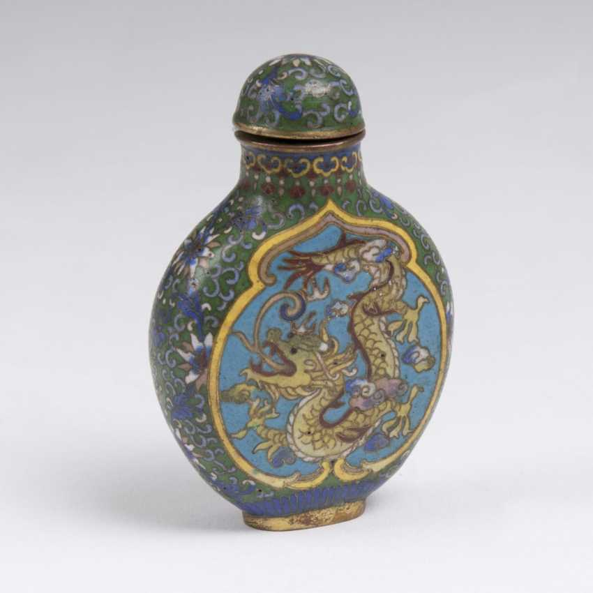 Cloisonné-Snuffbottle - photo 1
