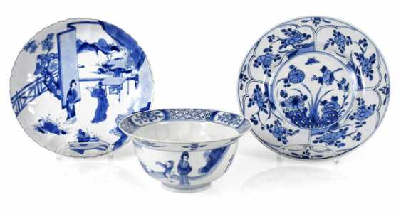 TWO PLATES AND A BOWL, - photo 1