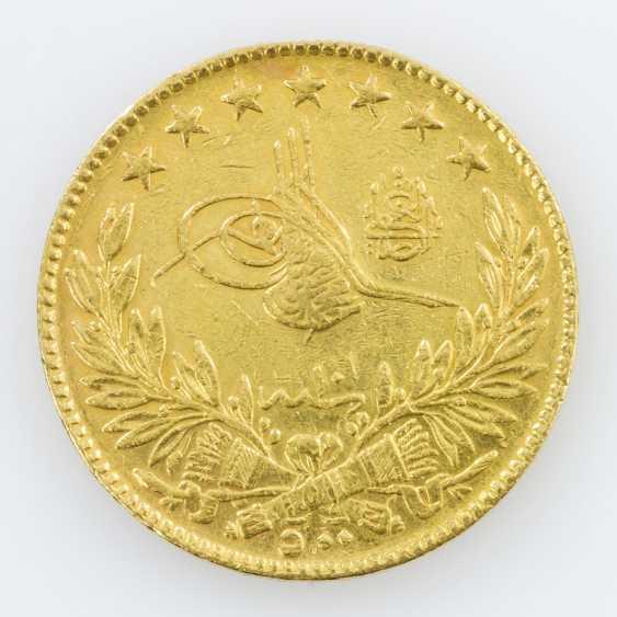 Egypt Gold 500 Piasters 1917/1918, Muhammad V. - photo 2