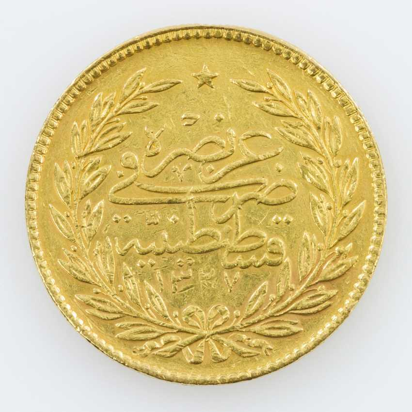 Egypt Gold 500 Piasters 1917/1918, Muhammad V. - photo 1