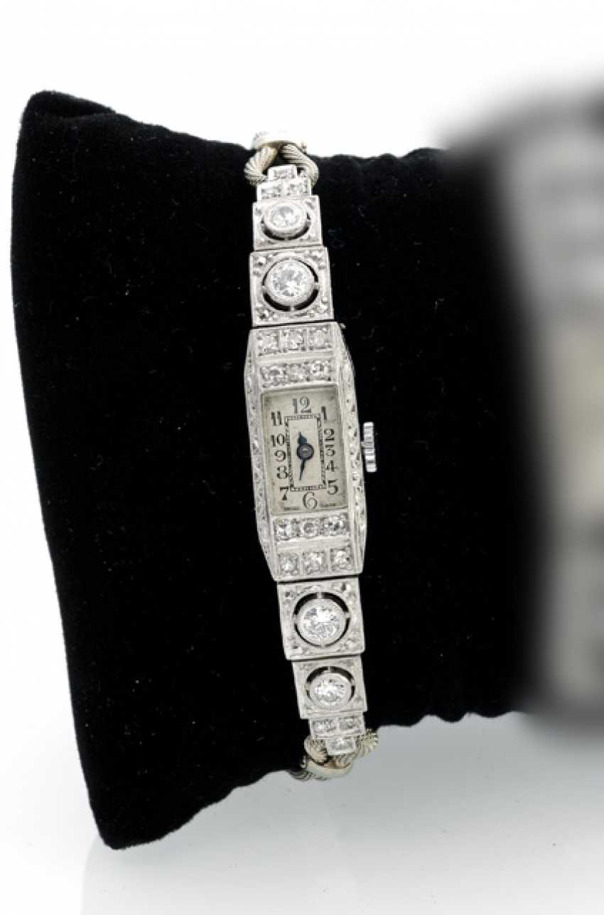 Art-Deco-Ladies ' Wristwatch - photo 1