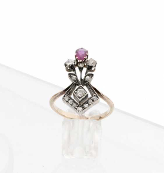 Youth style ring - photo 1