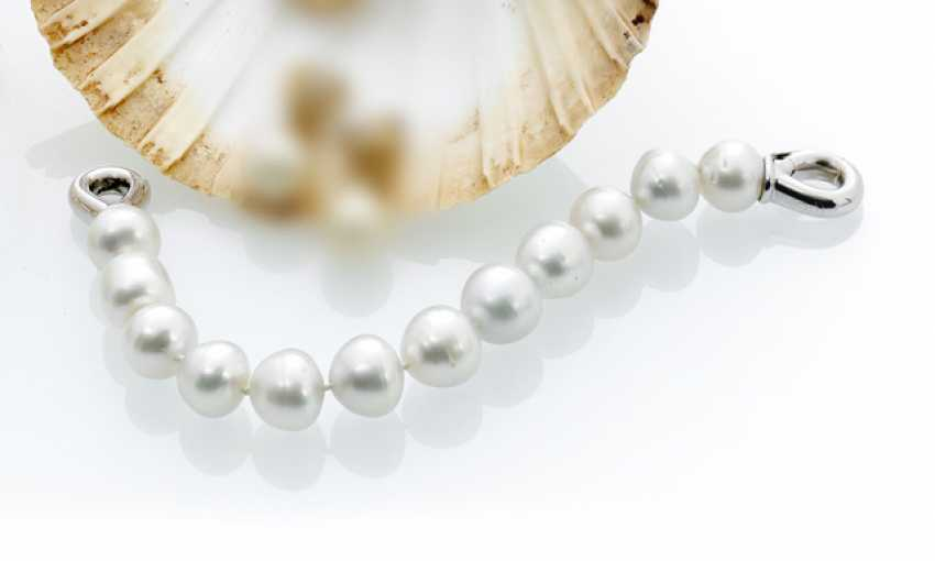 Bracelet made from South sea pearls - photo 1