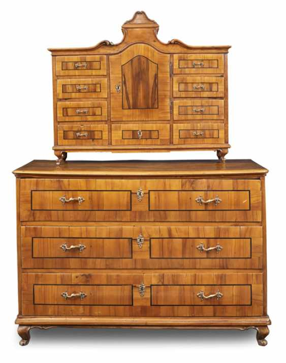 Baroque chest of drawers, and attachment - photo 1