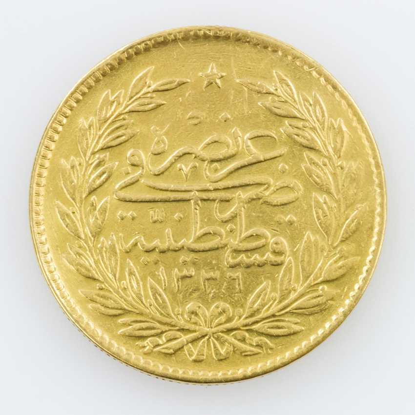 Egypt, Gold 500 piastres 1918, Muhammad VI. - photo 1