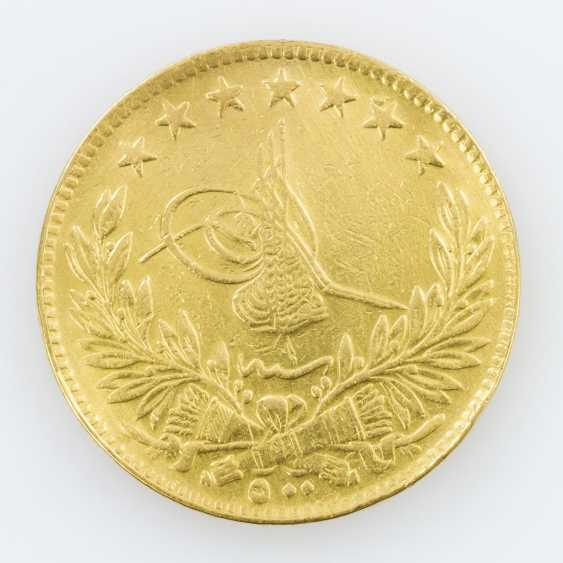 Egypt, Gold 500 piastres 1918, Muhammad VI. - photo 2