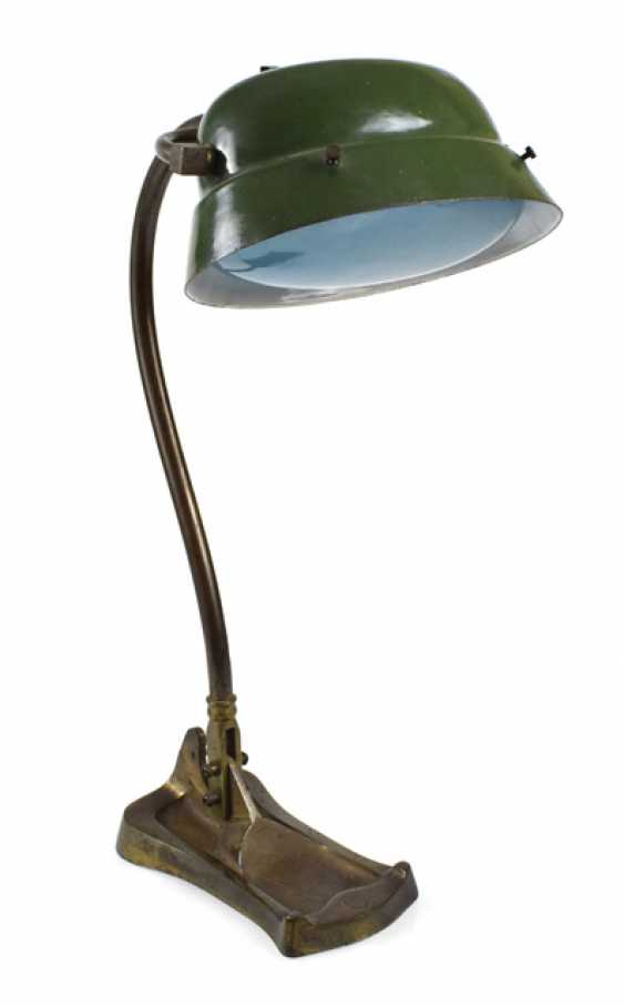 TABLE LAMP, PROBABLY ENGLAND, - photo 1