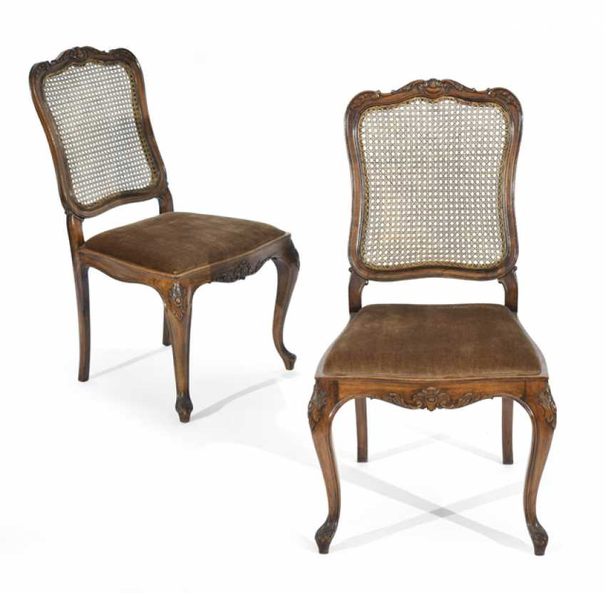 PAIR OF CHAIRS, ROCOCO STYLE, - photo 1