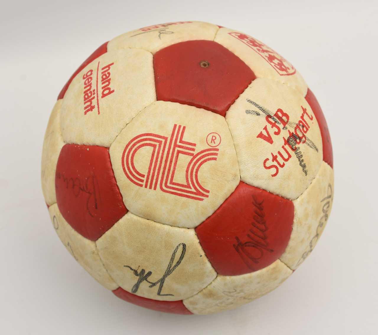 Fußball Lederball
