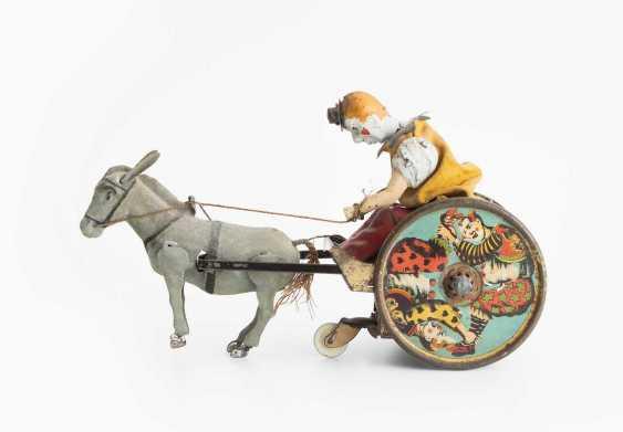 """Lehmann Tin Toy """"Stubborn Donkey"""" - photo 1"""