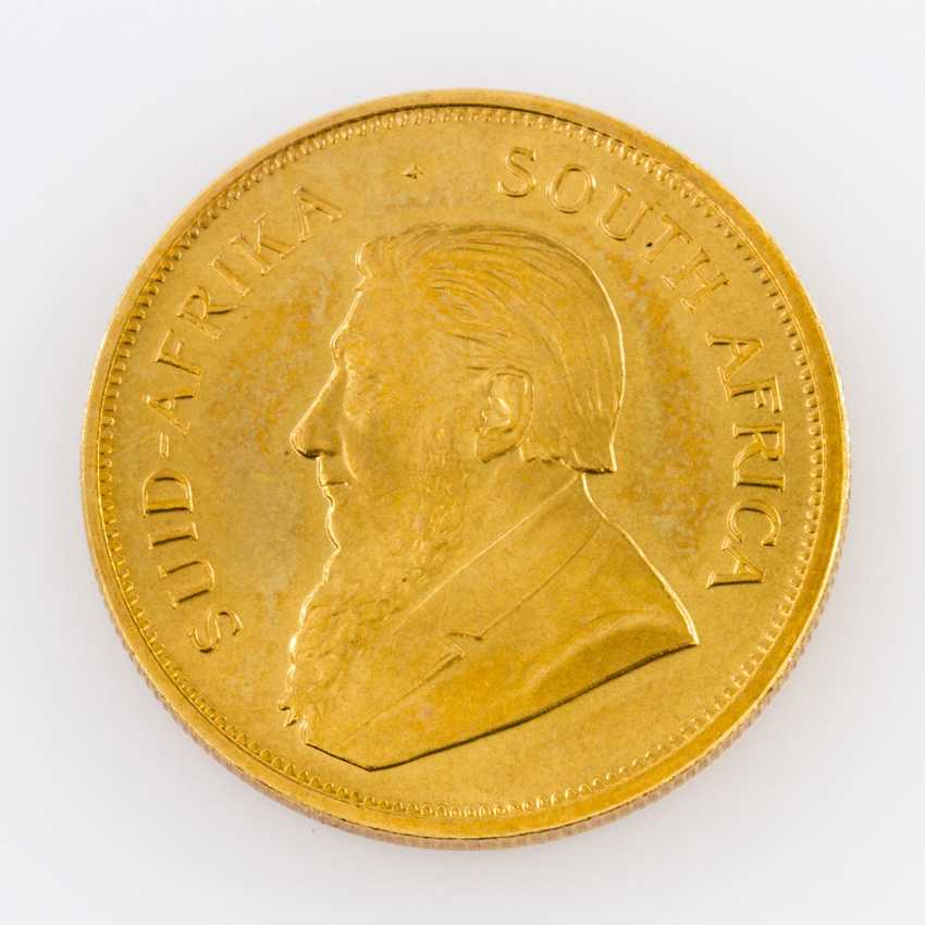 South Africa GOLD 1 oz Krugerrand 1976