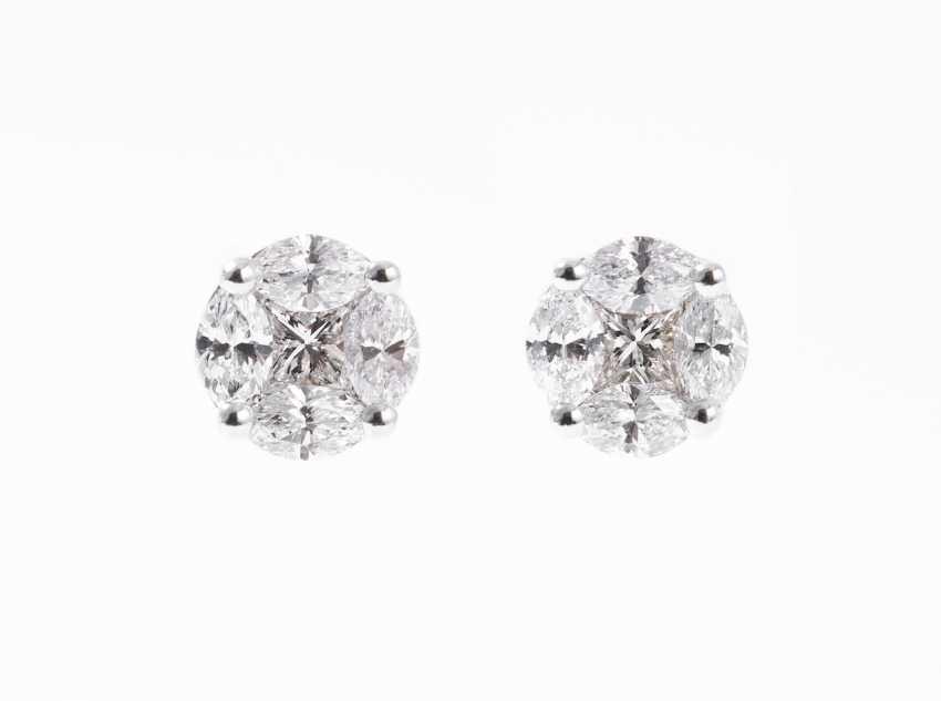 Diamond Stud Earrings - photo 1
