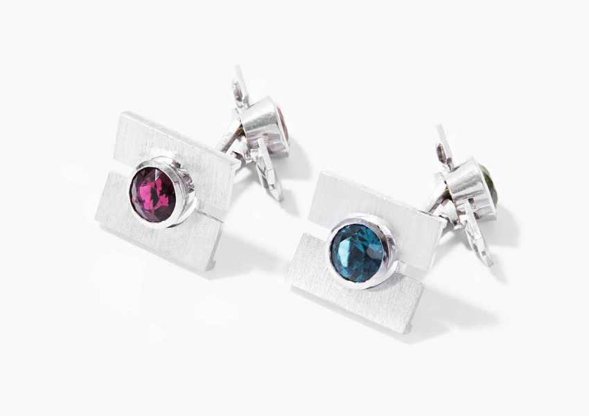 Color Stone Cufflinks - photo 1