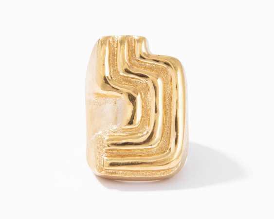 Burle Marx Gelbgold-Ring - photo 1