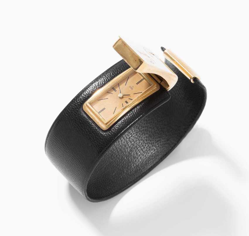Ebel-Leather-Gold-Ladies Wrist Watch - photo 1