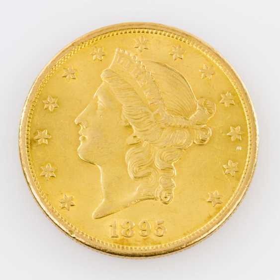 USA / GOLD - 20 Dollar Liberty Head 1895 - photo 1
