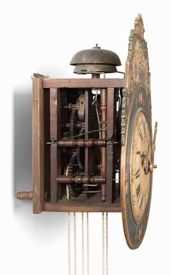 Appenzeller Wooden Wheels Wall Clock - photo 2