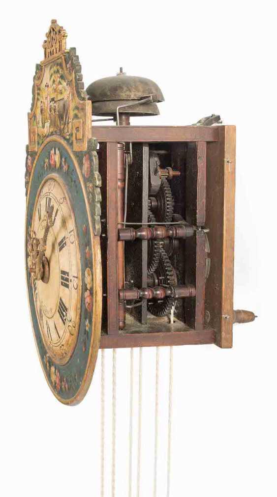 Appenzeller Wooden Wheels Wall Clock - photo 4