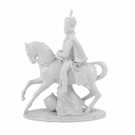 LUDWIGSBURG 'hussar on horseback', 20. Century. - photo 3