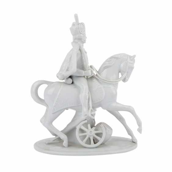 LUDWIGSBURG 'hussar on horseback', 20. Century. - photo 5