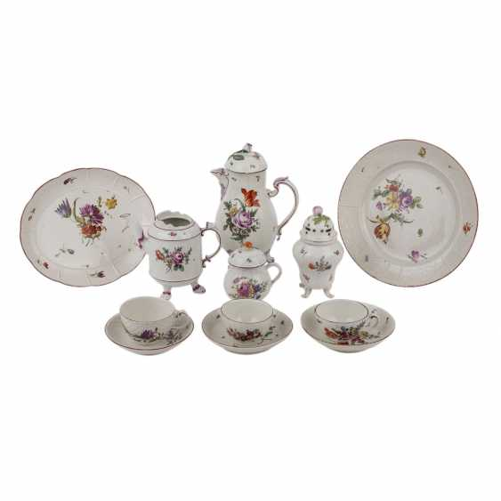 LUDWIGSBURG group of service parts, 12-piece, 1760-1790. - photo 1
