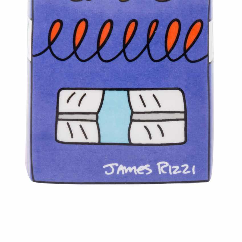 "JAMES RIZZI for GOEBEL piggy Bank ""My Pointy Piggy Bank"", 20. Century - photo 5"