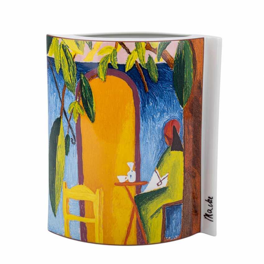 "ROYAL TETTAU Vase ""Turkish Café"", 21. Century - photo 1"