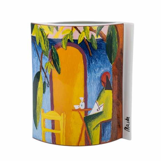 "ROYAL TETTAU Vase ""Turkish Café"", 21. Century - photo 3"