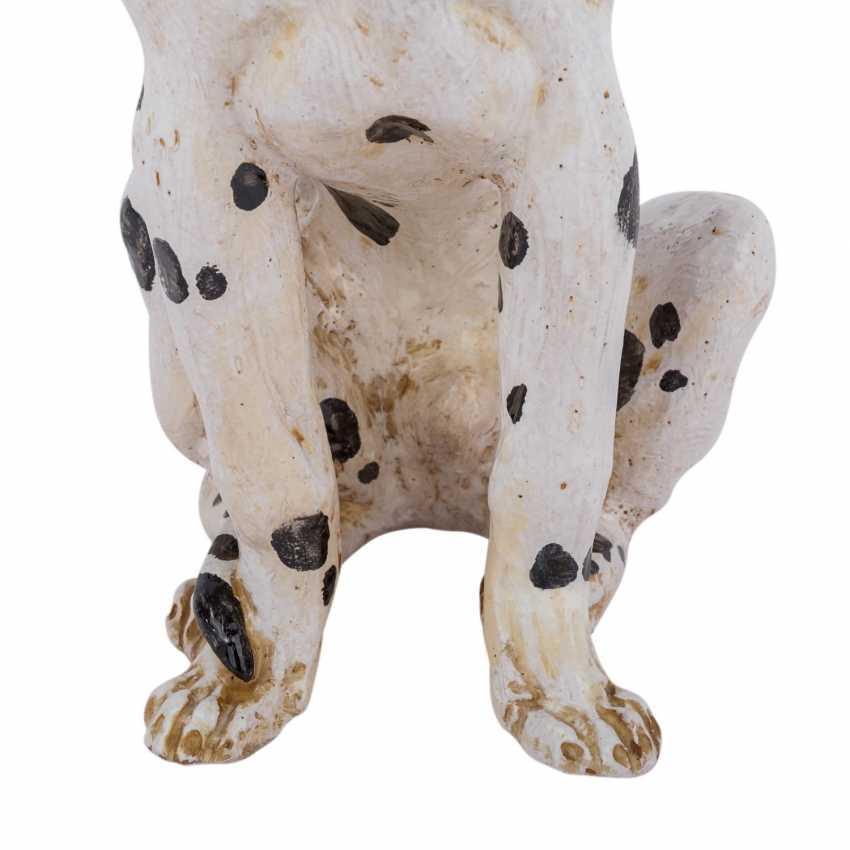 "ITALY animal figure ""Dalmatian"", 20. Century - photo 5"