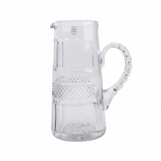 SAINT LOUIS TRIANON EXTENSIVE RANGE OF DRINKING GLASSES-SET - photo 3