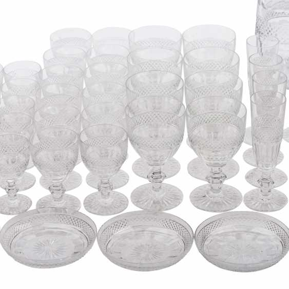 SAINT LOUIS TRIANON EXTENSIVE RANGE OF DRINKING GLASSES-SET - photo 4