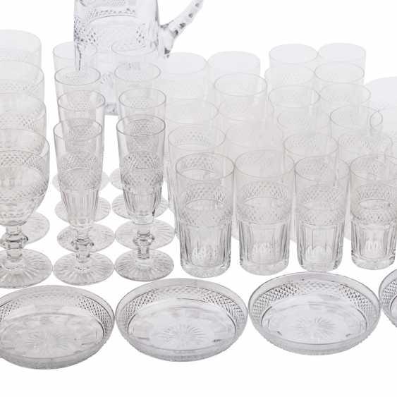 SAINT LOUIS TRIANON EXTENSIVE RANGE OF DRINKING GLASSES-SET - photo 5