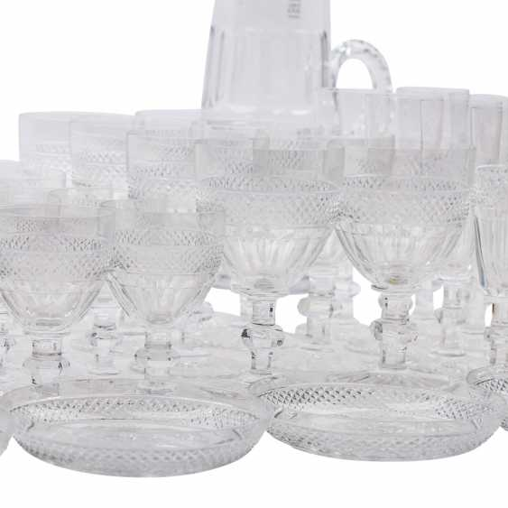 SAINT LOUIS TRIANON EXTENSIVE RANGE OF DRINKING GLASSES-SET - photo 6