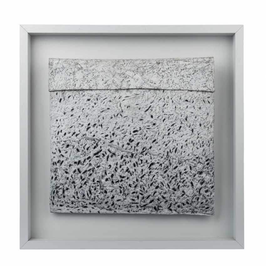 FRIEDMANN, CHRISTEL (südd. Artist 20./21. Century), the paper object in White and Black, - photo 1